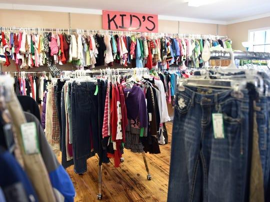 Trendy Treasures in Ridgeland has an extensive children's selection.