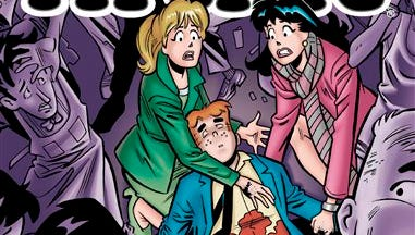 """This photo provided by Archie Comics shows the cover of the comic book, """"Life with Archie,"""" issue 36. Archie Andrews will die taking a bullet for his gay best friend. The famous freckle-faced comic book icon will die in the July 16 installment of """"Life with Archie"""" while intervening in the assassination of Kevin Keller, Archie Comics' first openly gay character."""