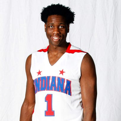 Caleb Swanigan, Homestead High School is the 2015 Indianapolis