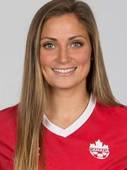 Shelina Zadorsky, Washington Spirit and Canadian soccer defender.