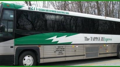 A Tappan ZEEXpress bus.