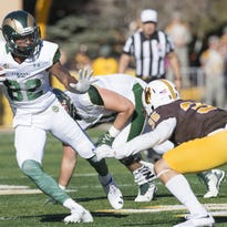 Former CSU wide receiver Rashard Higgins has received an invite to the NFL scouting combine.