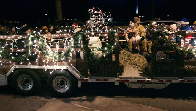 The Menasha Parks and Recreation Department will hold its 26th annual Holiday Hayride Dec. 8.
