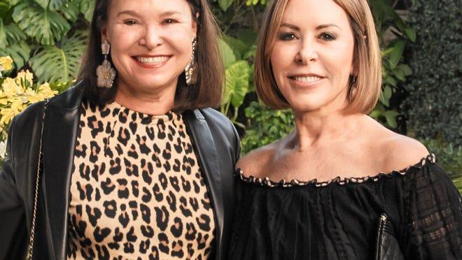 Lynn Tishman and Nancy Goodes