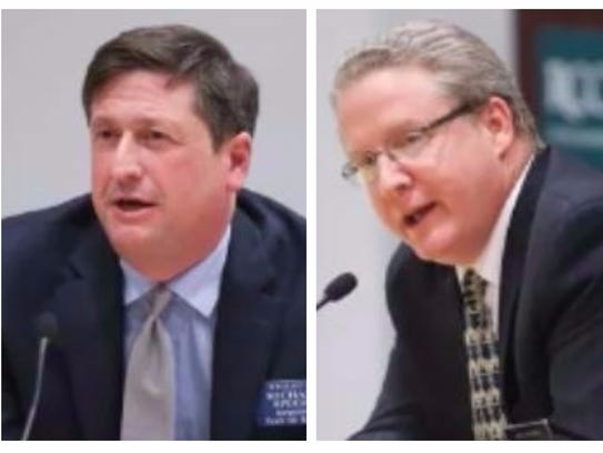 Ramapo town supervisor candidates Michael Specht and