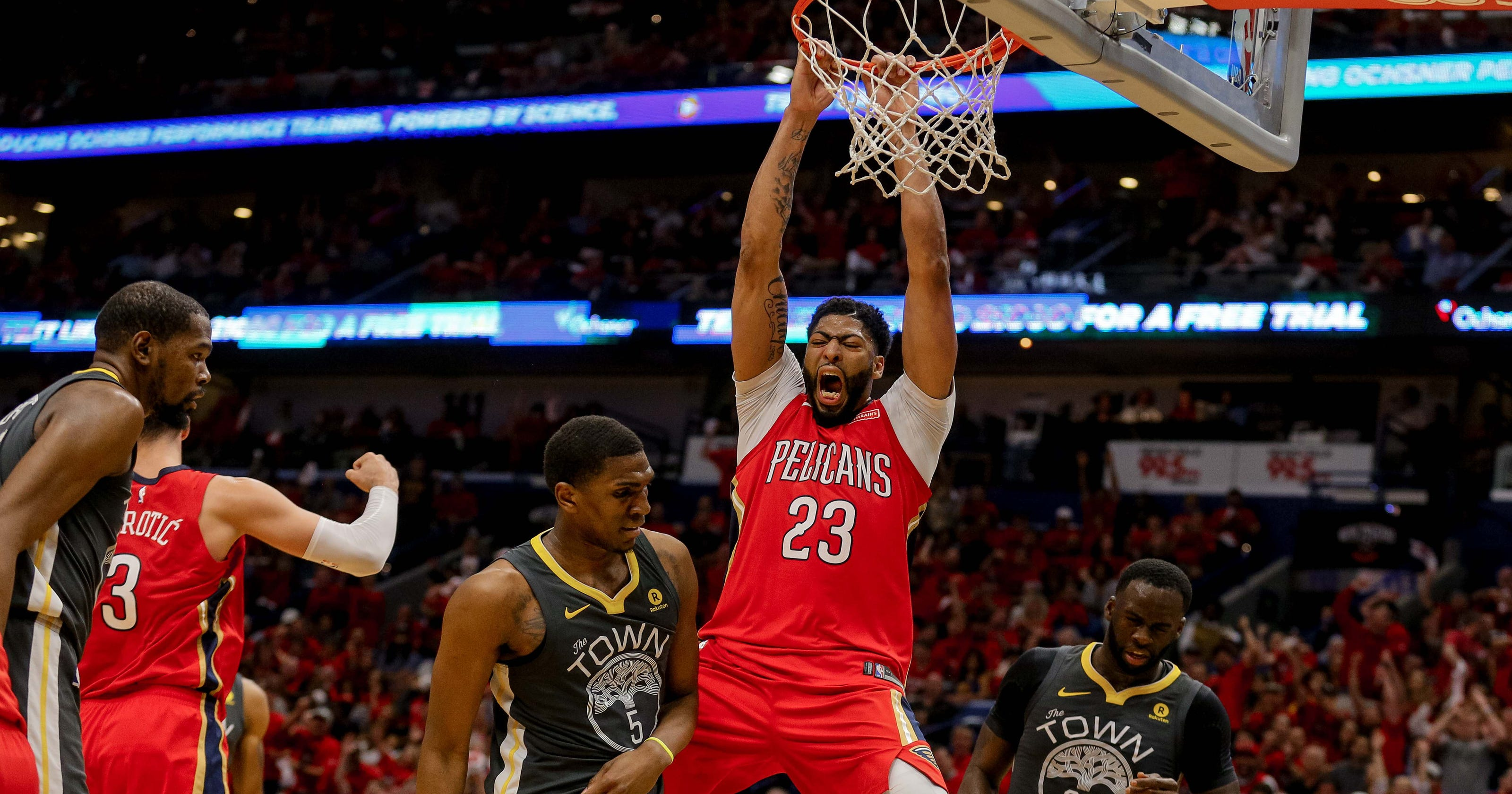 ab1474b488c Pelicans roll past Warriors for huge Game 3 win