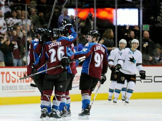 Sharks Avalanche Hockey