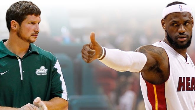 Karl Smesko and LeBron James are both from Akron, Ohio.