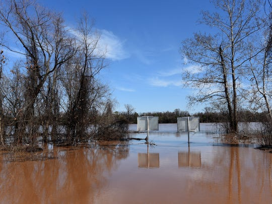 Red River flooding.