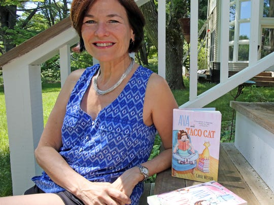Carol Weston at her home in Armonk in May. She began writing 'Dear Carol' in the 1990s.