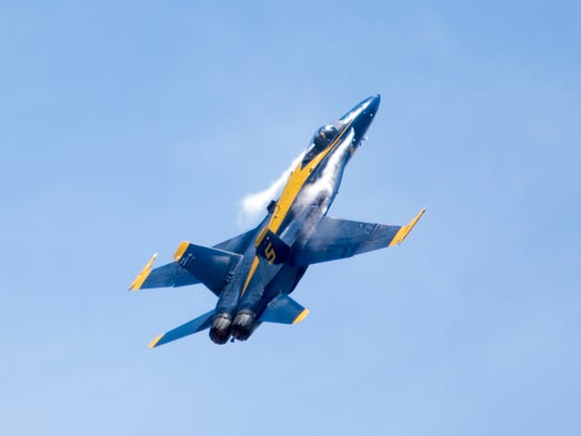 Blue Angels show in Pensacola, FL on Saturday, July