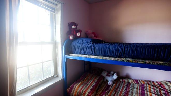 Delia Penton room for her foster kids.