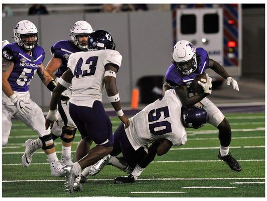 Abilene Christian University wide receiver Troy Grant