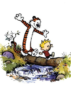 Calvin and Hobbes continue to inspire a dozen years after Bill Watterson ended the strip.