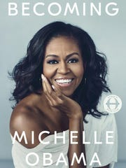 """Becoming"" by Michelle Obama. (Penguin Random House)"