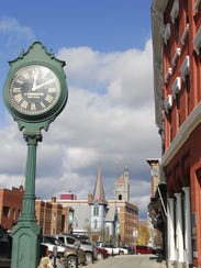 St. Johnsbury's downtown is seen in 2008.