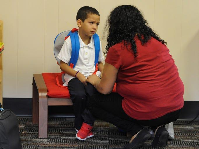 Maybury Elementary Montessori student Abraham Orosco,