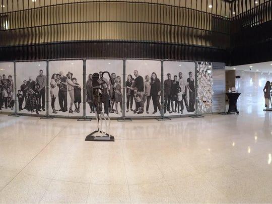 "The original ""Barrier Free"" art installation designed by Yancy Villa-Calvo."