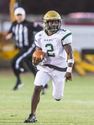 A huge factor in the Acadiana Wreckin' Rams getting off to a 7-0 start has been the big-pay potential of running back Jaylen James.