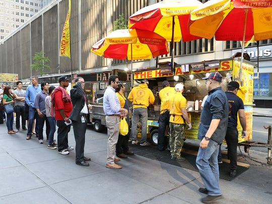 The Halal Guys started serving from a New York food