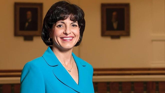 Christi Craddick is the chairman of the Railroad Commission of Texas.