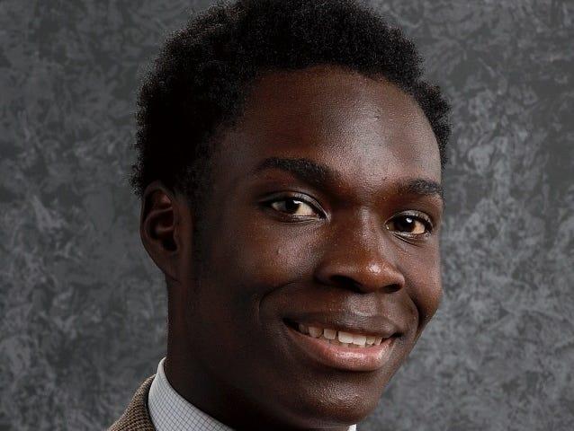Christ School's Kokayi Cobb ran a school record in the 400-meter dash (50.22 seconds) last weekend.
