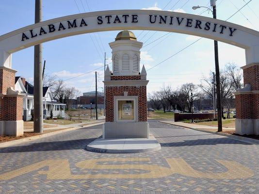 ASU entrance