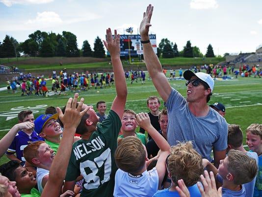 Hy-Vee/Sanford Legends Football Clinic