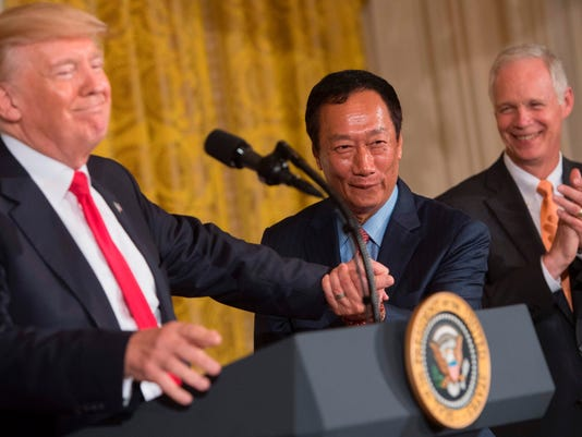 POLITICS-US-TRUMP-FOXCONN