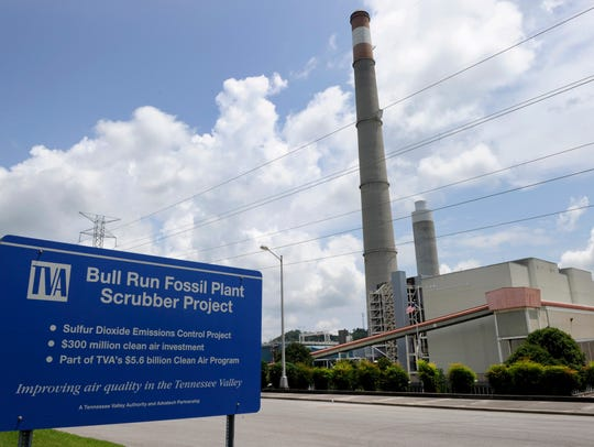 TVA's Bull Run Fossil Plant, on the Clinch River near