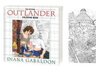 Free 'Outlander' Adult Coloring Page