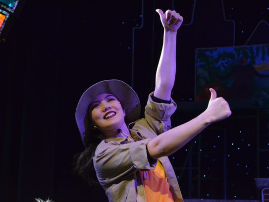 "Mia DeSilva as a Zookeeper in ""Madagascar, Jr."""