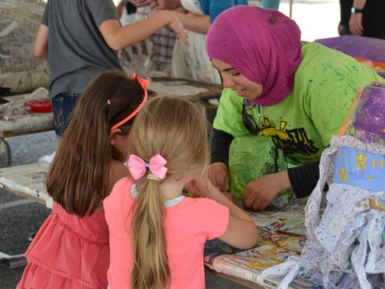 The 55th annual East Lansing Art Festival takes place