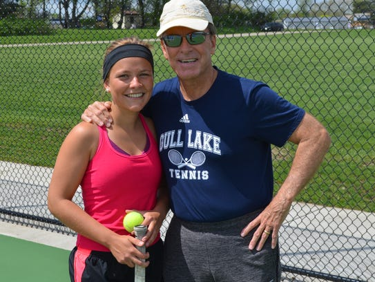 Gull Lake's Marie-Sarah Dumont, a foreign-exchange