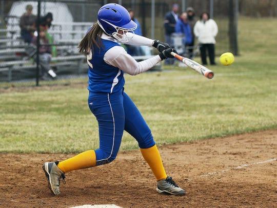 Shortstop Katie Hossler and her Northern Lebanon are