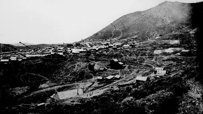 Virginia City circa 1867-68.