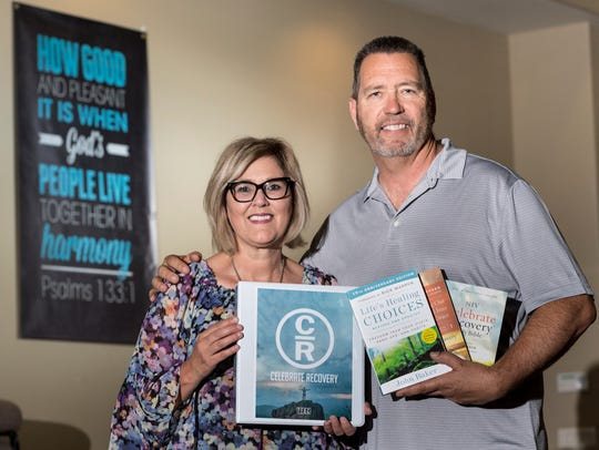 Sandee and Dan Trobaugh went through Celebrate Recovery