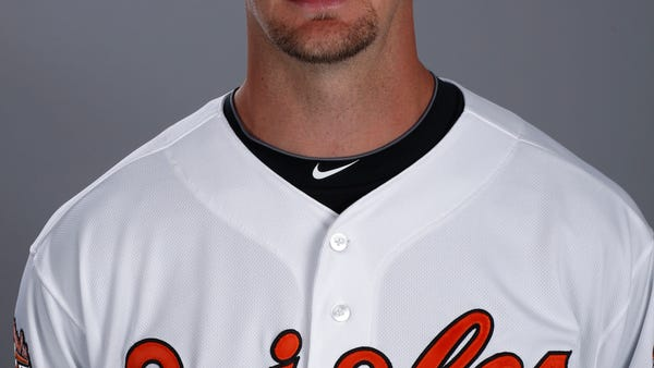 This is a 2014 photo of Caleb Joseph of the...