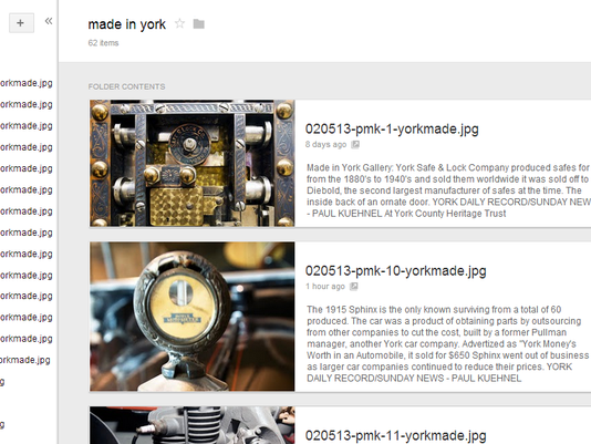 made in york - Google Drive