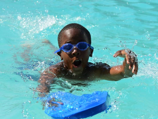 Tr apartment community gets new summer benefit free swim lessons for children for Ymca with swimming pool near me