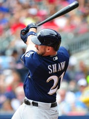 Travis Shaw, who the Brewers acquired in an off-season