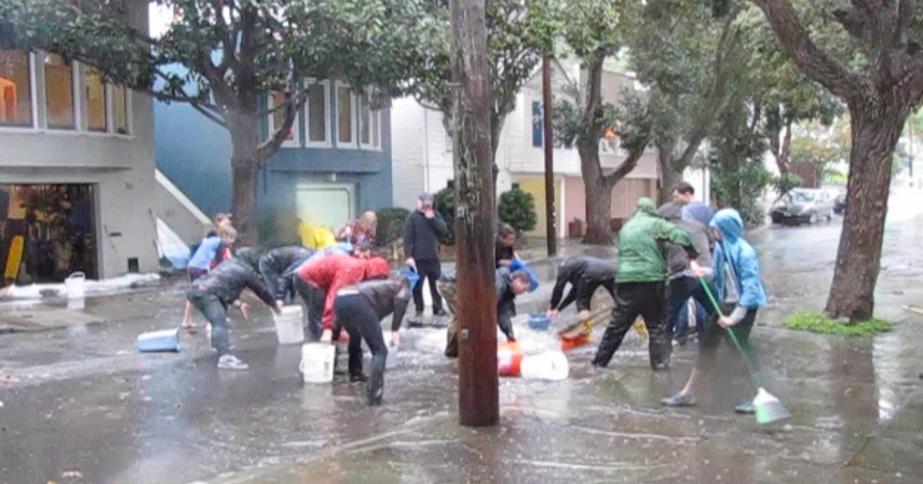 Image result for Glen Park San Francisco flooding