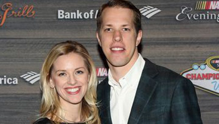 NASCAR's Keselowski marries longtime sweetheart