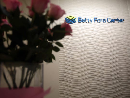 The reception area of the Betty Ford Center in Los Angeles on Thursday.