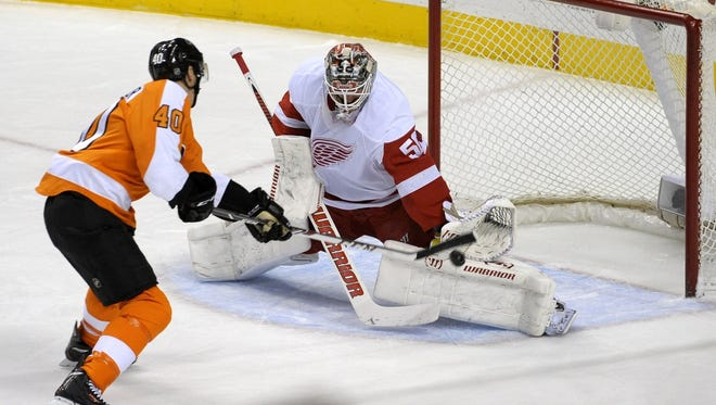 The Red Wings are coming off a big victory over the Pittsburgh Penguins, too.
