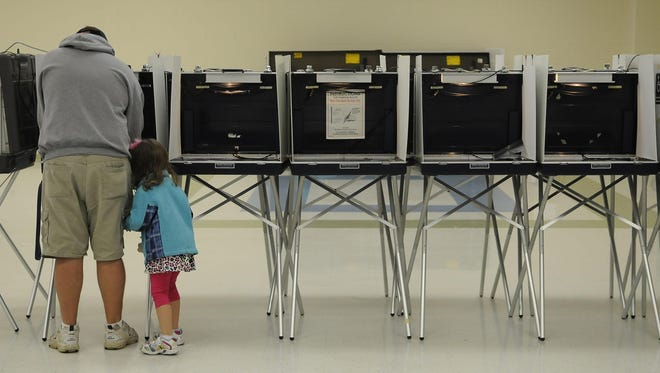 The polls are open until 8 p.m. for the Michigan primary election