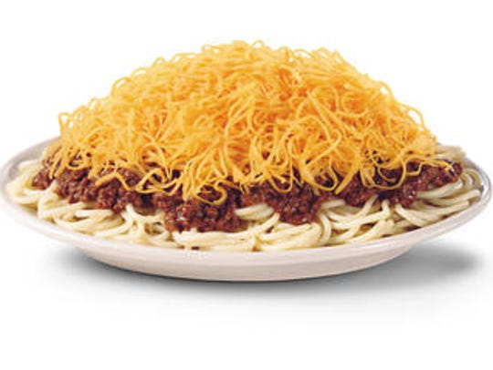 A Skyline chili 3-way