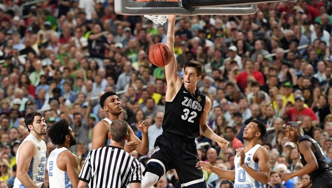 Gonzaga's Zach Collins is declaring for the NBA draft.