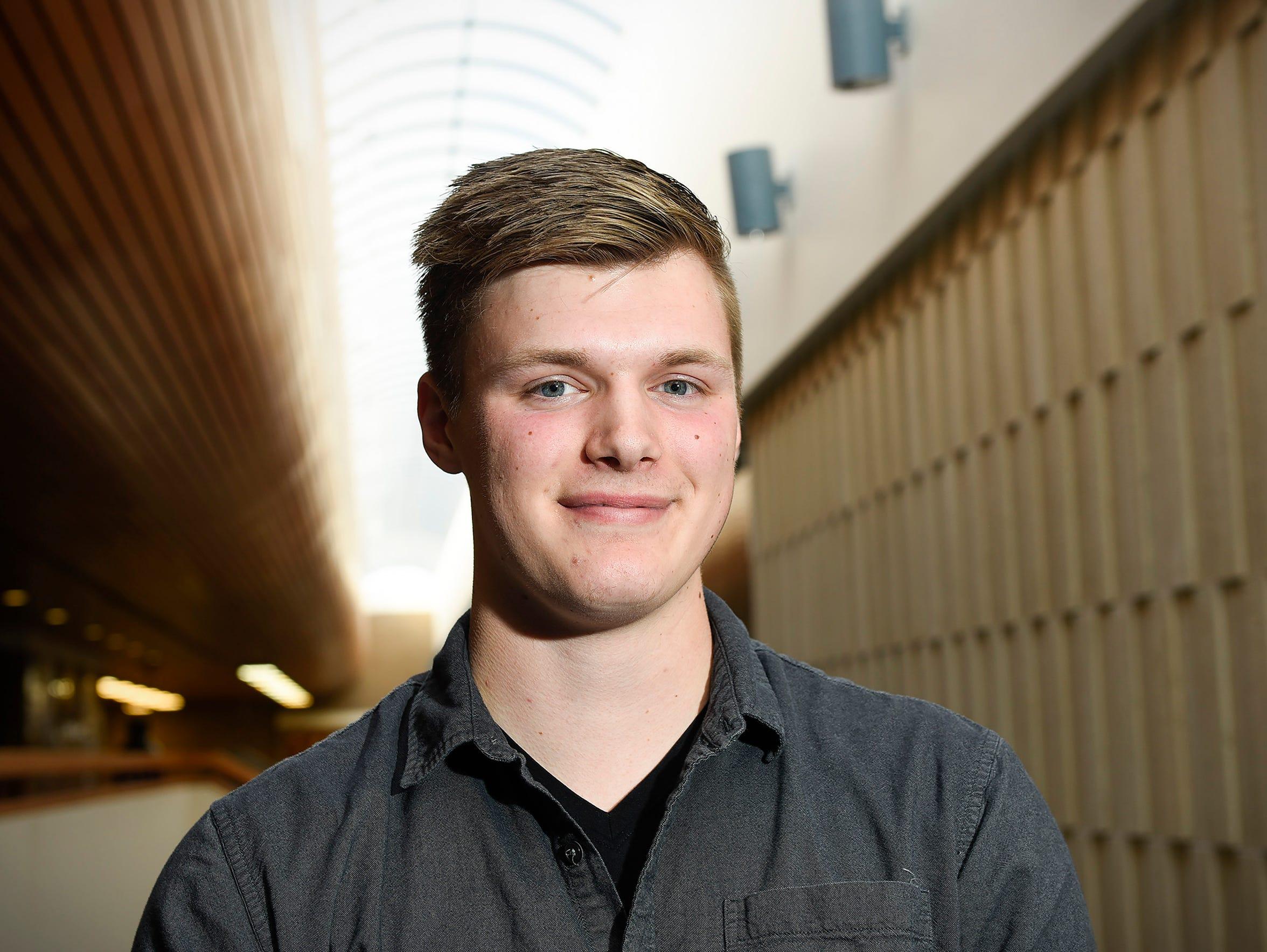 Alex Bertsch,18, has started a business that sells