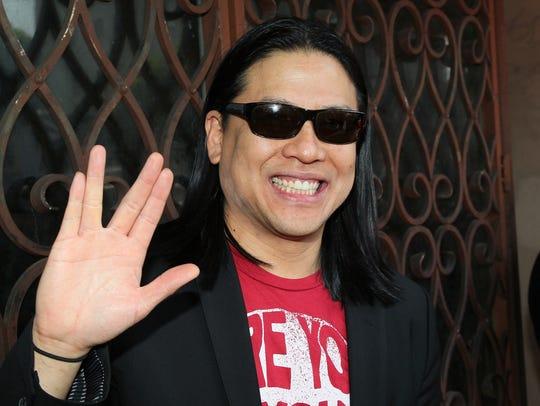 Garrett Wang in 2012.
